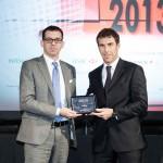 Paolo Pedon - Export Manager del Gruppo - che ritira il China Award.