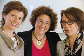 Da sinistra Chiara Violini Direttore Commerciale, Cetti Galante Amministratore Delegato e Alessandra Giordano Direttore Delivery