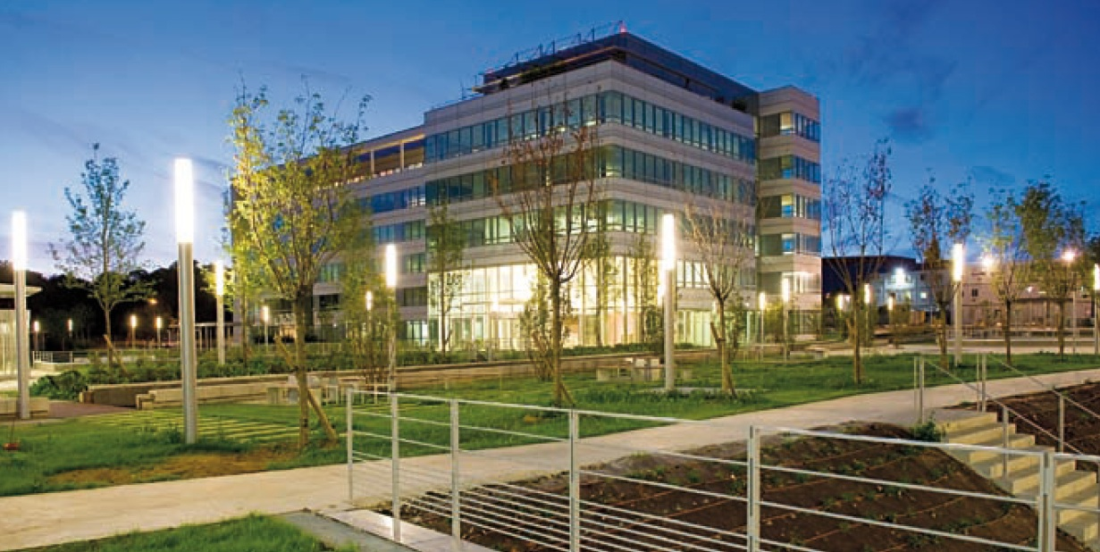 Dassault Systemes Campus a Velizy-Villacoublay