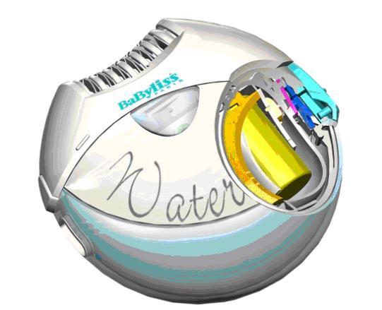 Epilatore BaByliss waterproof con CREO