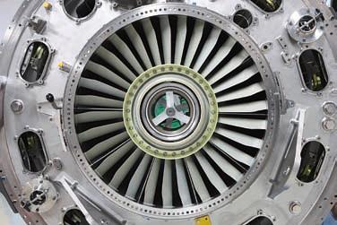 Fan Hub Frame del motore aeronautico GEnx