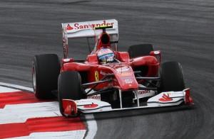 Fernando Alonso, terzo al Gran Premio di Malesya nel 2010