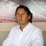 Massimiliano Guerrini, titolare della Pelletteria Almax