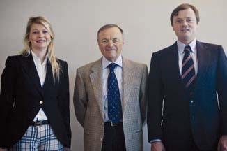 Hendrika, Giuseppe e Vincenzo Visenzi