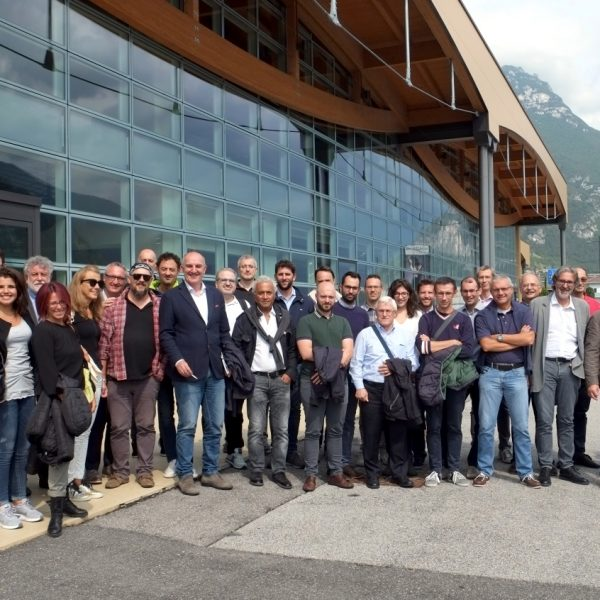 Team Tecnest in Falconeri