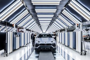Il modello Super SUV Urus