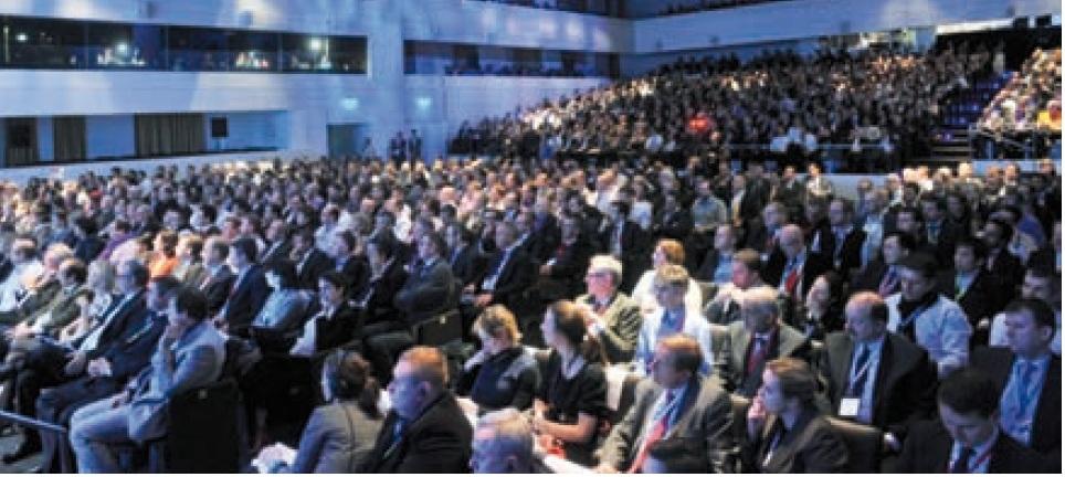 La platea al 3DExperience Forum Europe organizzato da Dassault Systemes