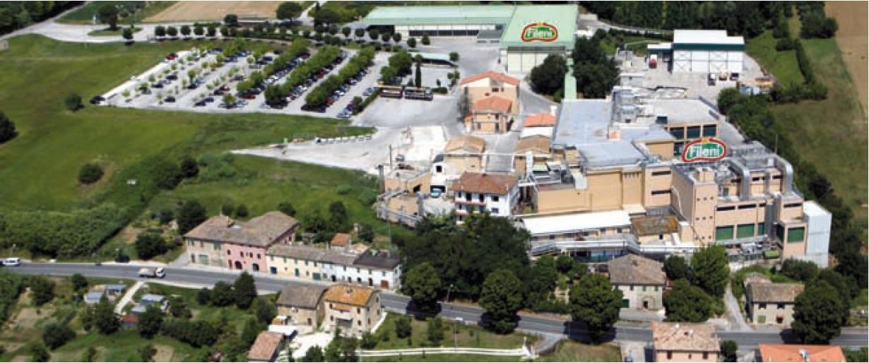 Lo stabilimento di Castelplanio
