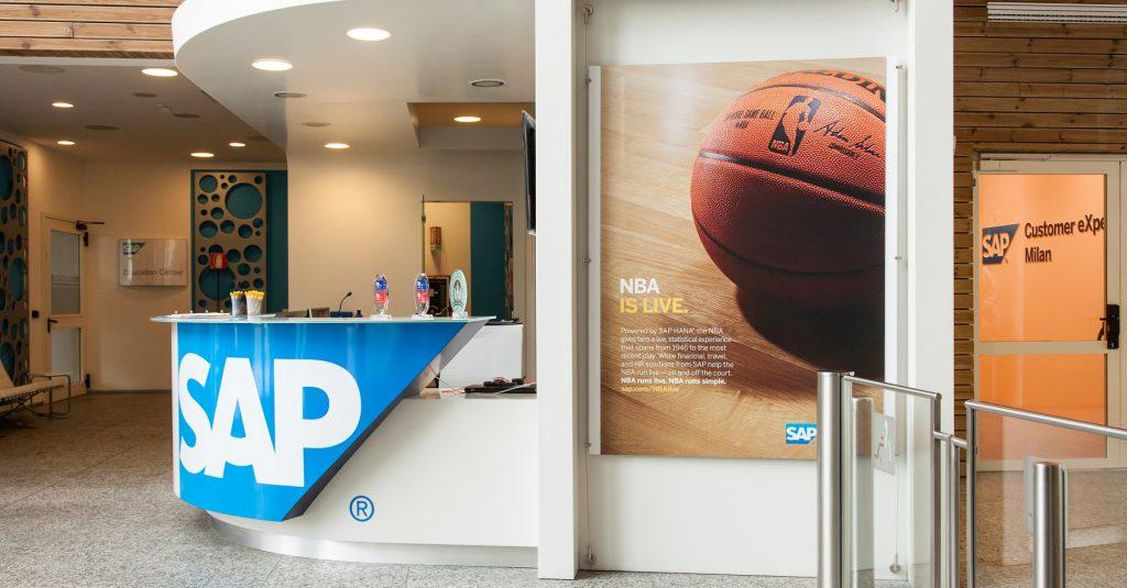 La sede di SAP Italia