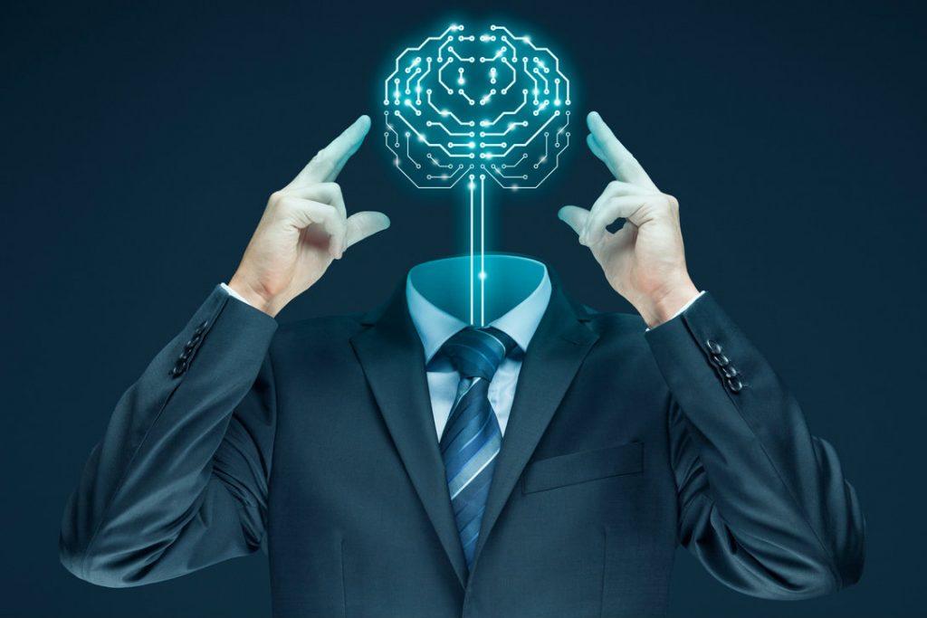 Uomo tecnologia impresa 4.0