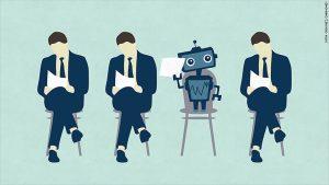 robot e uomini